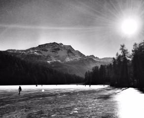 Black Ice in St. Moritz