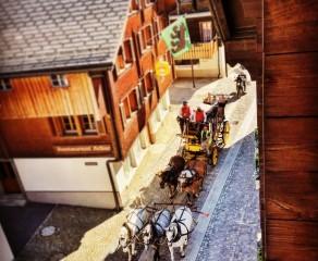 Gotthard Pass Historic Post Carriage