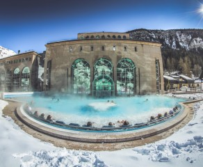 Thermal Baths in the Valais