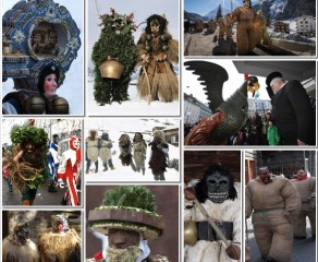 Swiss Winter Folklore & Mythical Characters