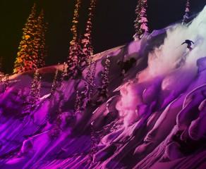 Sweetgrass Lightsuit Skiing POV