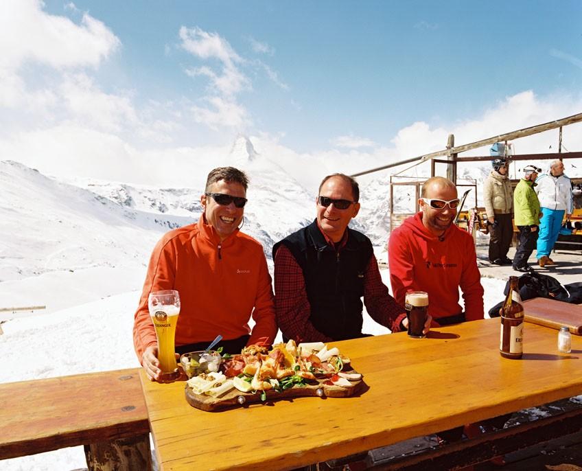 The Best Mountain Restaurants in Zermatt, in our opinion!