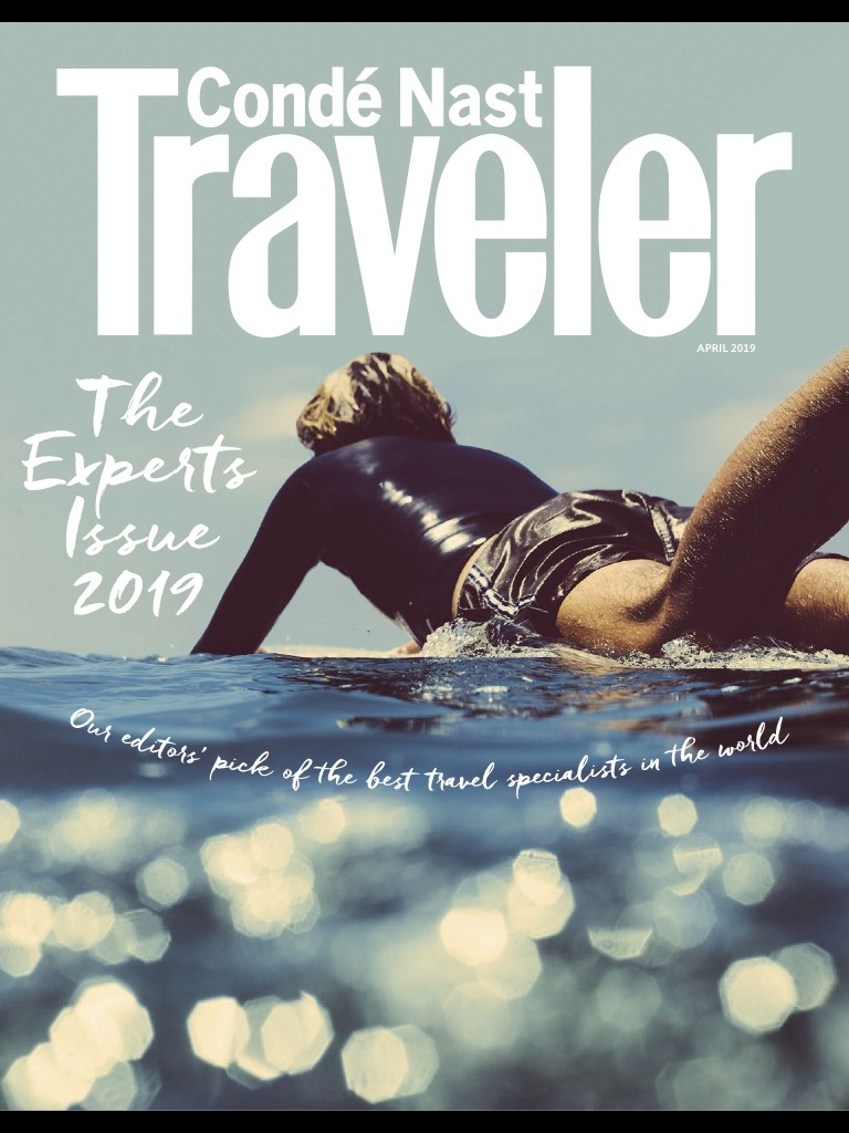 2019 Condé Nast Traveler Magazine - Switzerland & The Alps Specialist