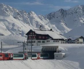 Timeline - Glacier Express