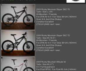 Killer Deals on All-Mountain Bikes!